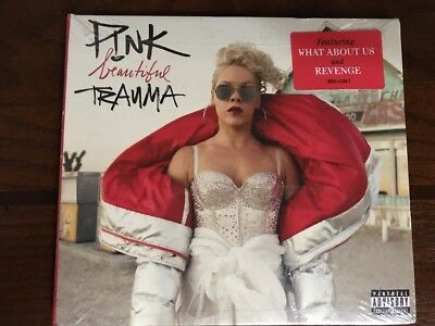 Beautiful Trauma [PA] * by P!nk (CD, Oct-2017, RCA)