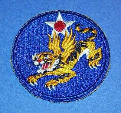 ORIGINAL CUT-EDGE WW2 14th AIR FORCE PATCH