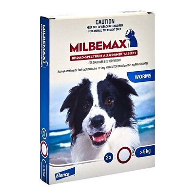 NEW Milbemax All Wormer For Large Dogs