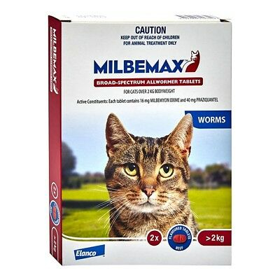 NEW Milbemax All Wormer For Cats