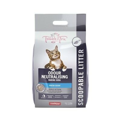 NEW Trouble & Trix Baking Soda Cat Litter - 15 Litre