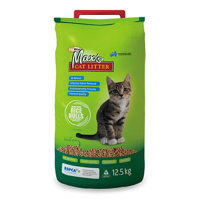 NEW Max's Cat Litter 12.5kg