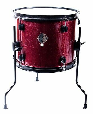 "Ludwig Questlove 13 x 10"" Floor Tom Drum, Wine Red Sparkle, NEW"