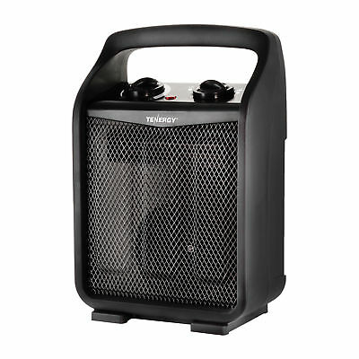 1500W/750W Portable Space Heater Adjustable Thermostat Air Electric Fan Heater