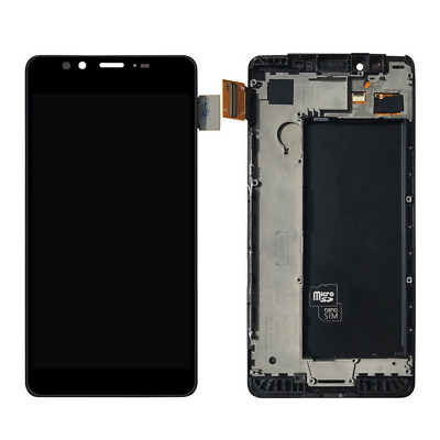 For Microsoft Lumia 950 LCD Display Touch Screen Digitizer Assembly Black Frame