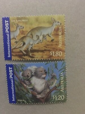 100 Mint $3( 2 Stamps ) Australian International postage Stamps, MNH, FV$300