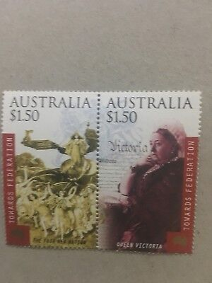 100 Australian MUH $3 (2-3 stamps) Discount Postage Stamp Full Gum Face $300