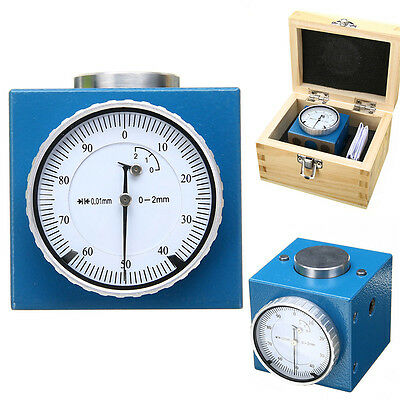 """Magnetic Z Axis Tool Dial Zero Pre Setter .0004"""" Gage Offset CNC Metric Range"""