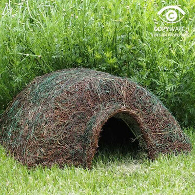 Hogitat Home Hedgehog House Habitat Nest Garden Small Mammal Wildlife World
