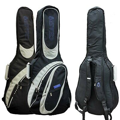 Chase Electric Bass Guitar & Classical Guitar Gig Bag Case 5 15 25 Padded Foam