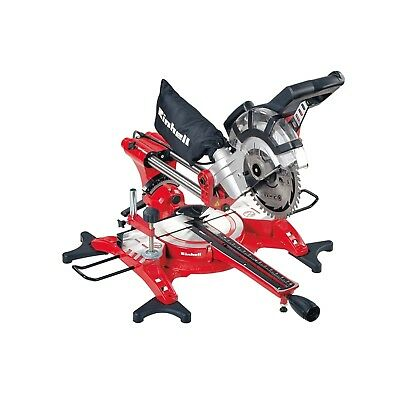 Einhell TC-SM 2131 Dual Sliding Mitre Saw & Laser 210mm 1800 Watt 240 Volt