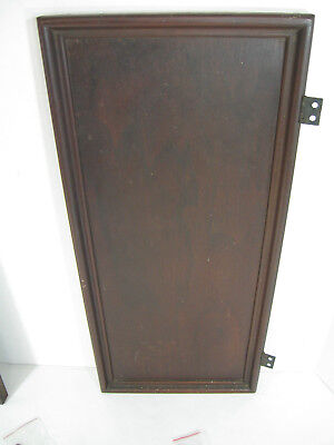 SINGER Drawing Room Cabinet PARTS ~ Side Panel DOOR ~ Mahogany