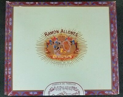 CIGAR Box Wood Ramon Allones Flor-Extra-Fina - Santiago Dominican Republic- NY