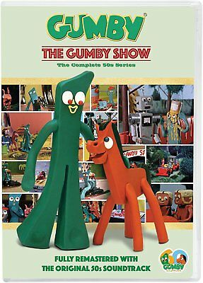 The Gumby Show: Complete 1950s Claymation TV Series Collection Box / DVD Set NEW