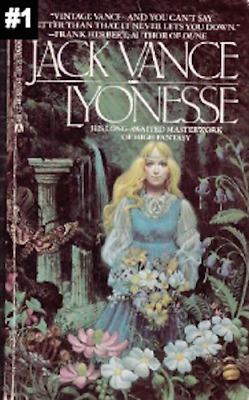 Complete Set Series - Lot of 3 Lyonesse books by Jack Vance Fantasy