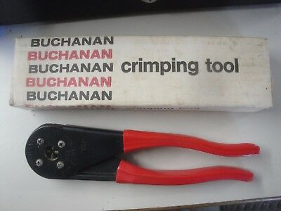 BUCHANAN C24 CRIMP TOOL - Excellent Slightly Used Condition 3a