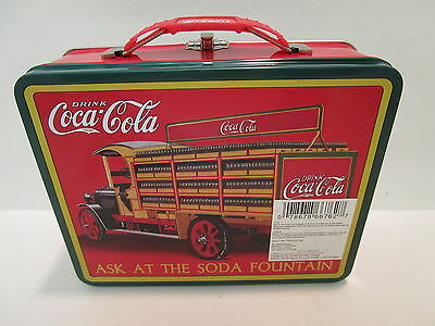 Coca Cola Lunch Box Ask at the Soda Fountain  Classic Collectable