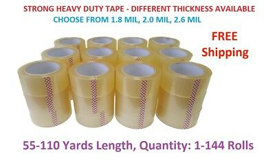 """2"""" Strong Clear Packing Tape for Packaging Carton Box Moving Shipping Tape Gun"""