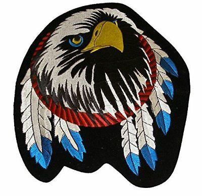 Eagle Dream Catcher Feather Native American Large Size Back Patch Indian Tribal