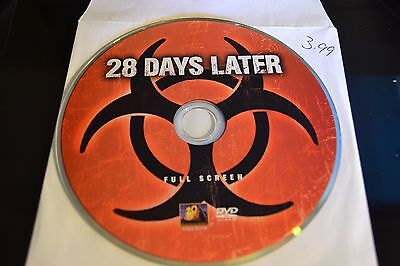 28 Days Later (DVD, 2003)Full Screen Disc Only Free Shipping
