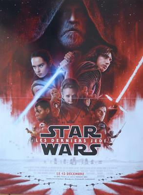 Star Wars The Last Jedi - Hamill / Fisher  - Regular Small French Movie Poster