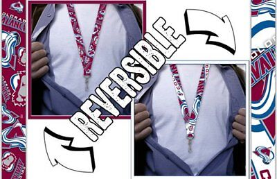 Colorado Avalanche Lanyard, Reversible