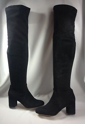 02db7904eb1 INC International Concepts Rikkie Women Shoes Black Over the Knee Boots  Black 8