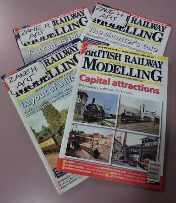 #14.  Twenty (20) Different  2004 - 2006  Railway  Magazines, Never Read