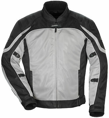 Tourmaster Intake Air 4 Women's Textile Jacket [Silver/Black, Md]
