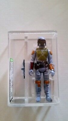 Vintage Star Wars 1979 Kenner AFA 85 Boba Fett COO TW loose with AFA baggie