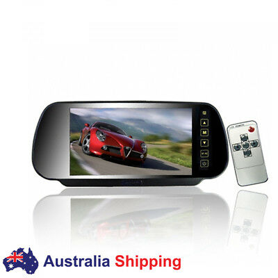 12V/24V 7 inch HD LCD Car Truck Monitor 800*480 In-Mirorr Screen for Rear View