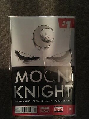 Moon Knight #1 1st Print All New Marvel Now! 2014 NM!!