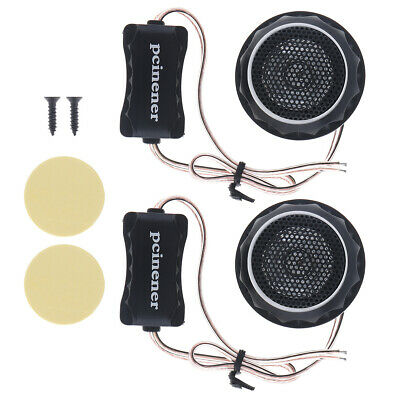 2x 140W T280 Car Horn Dome Tweeter Audio Loudspeaker Auto Stereo Treble Speaker