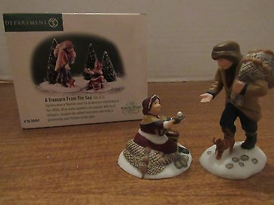 Dept. 56 Dickens Village A Treasure From The Sea Set Of 2