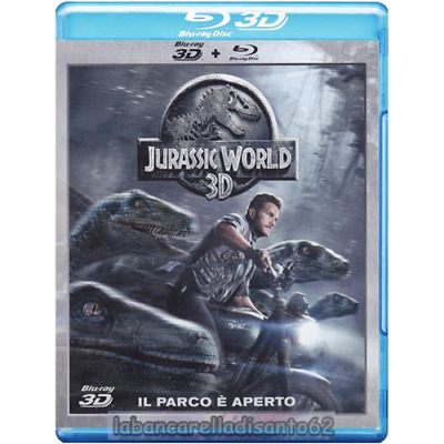 Blu-Ray - Jurassic World - (2D+3D) (2 Dischi)