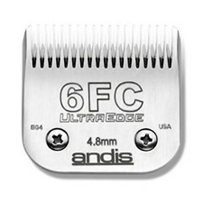 Andis Ultraedge Number #6FC/4.8mm Dog Pet Grooming Clipper Blade Snap-on System