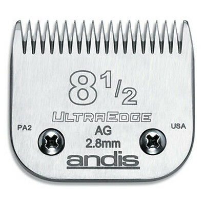 Andis Ultraedge Number #8.5/2.8mm Dog Pet Grooming Clipper Blade Snap-on System