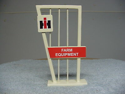 Ih International Harvester Tractor Farm Equipment Dealer Display Stand Sign