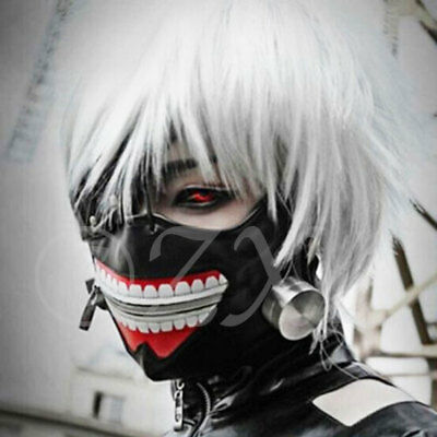 Tokyo Ghoul Kaneki Ken Adjustable Masks Japanese Anime Cosplay Costume Xmas Gift
