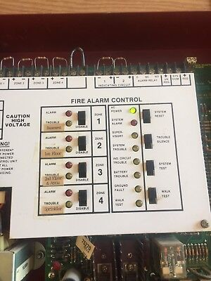 Fire Lite Miniscan MS 4024 Fire Alarm Control Panel ms 4424b alarm control panel fire lite alarms used $349 99 picclick  at fashall.co