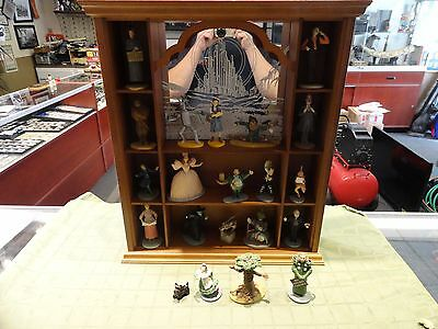 Franklin Mint Wizard Of Oz Complete Set Of 20 W/ Display Case Ready To Ship!!!