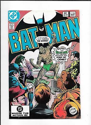 Batman #359 ==> Vf/nm 1St Appearance Of Killer Croc On Cover Dc Comics 1983