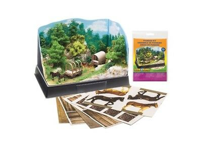 NEW Woodland Scenics Scene-A-Rama Pioneer Kit SP4240