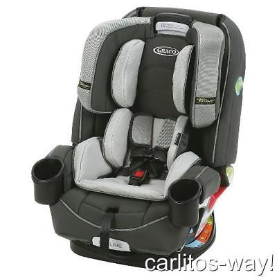 Graco 4Ever 4-n-1 Convertible Car Seat Infant SAFETY SURROUND BYRON FASHION BABY
