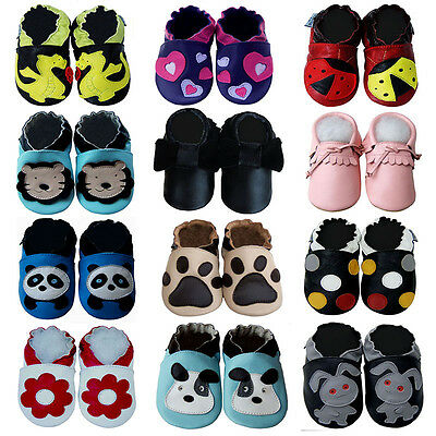 Cozy Boutique Moccasin Baby Boy Girl Shoes Infant Booties 0-5Y Soft/Rubber Sole