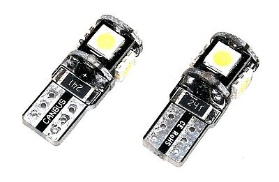 Angebot 2x Canbus T10 12V - 14,5V 5  LED / SMD Weiß Auto KfZ Licht Beleuchtung