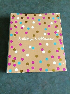 Birthday and Address Book