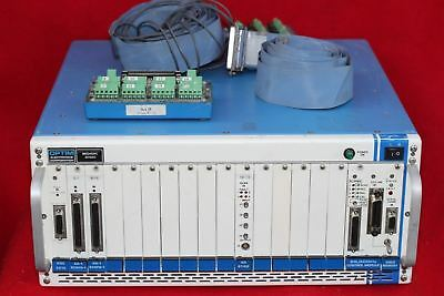 OPTIM ELECTRONICS 3415 AC MEGADAC DATA ACQUISITION SYSTEM w/ CARDS