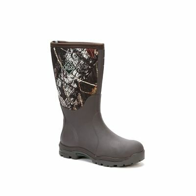 Muck Boots Company Women's WOODY MAX, MOSSY OAK BREAK-UP CAMO, Neoprene Rubber