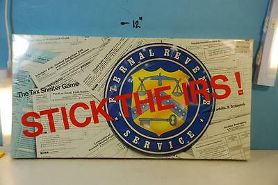 Stick the I.R.S: The Tax Shelter Game = Courtland Playthings 1981 Shrink
